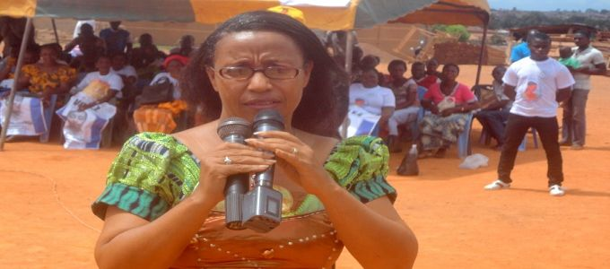 Candidate Kouangoua Claire __ San Pedro