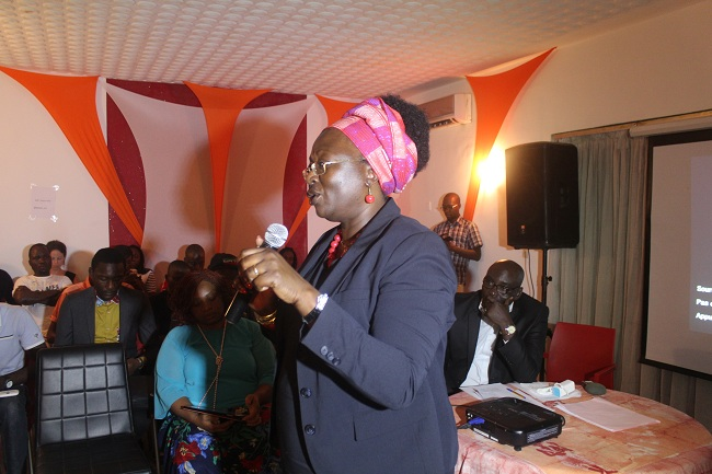 Mariam Dao Gabala Coordinatrice de Peace-ci  Crédit photos: Daouda Coulibaly