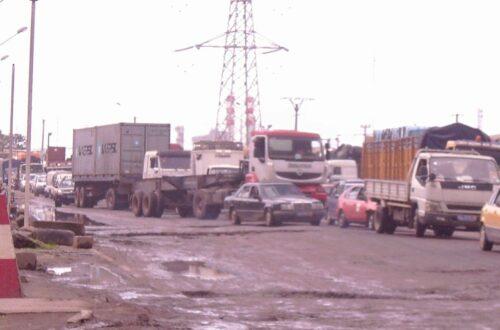 Article : Port autonome d'Abidjan, tous pour un et rhume pour tous!