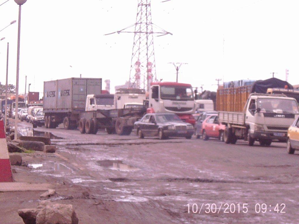 Zone portuaire Vridi