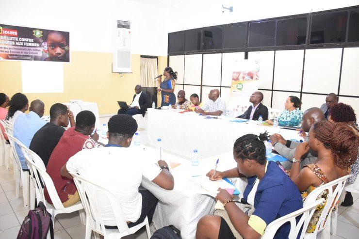 16 jours d'activisme contre la violence basée sur le genre: les médias et activistes ivoiriens sont-ils au Rendez-vous?